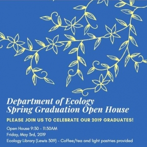 Ecology Graduation Open House