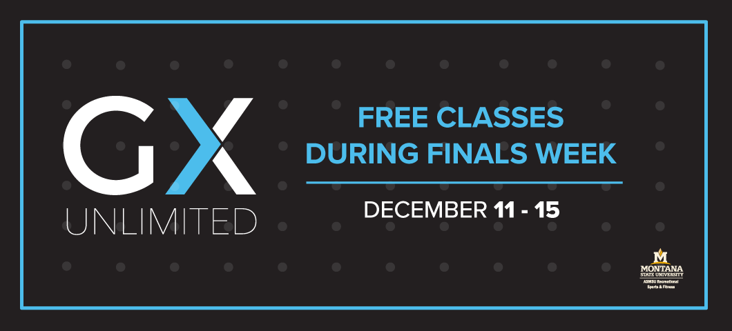 Free GX classes during finals week at the HFC