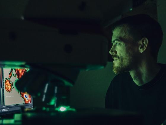 Roland Hatzenpichler Lab | MSU Photo by Adrian Sanchez-Gonzalez