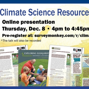 Climate resources for teachers