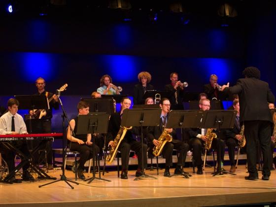 MSU One O'Clock Jazz Band performs |