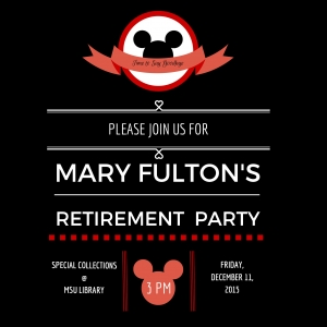 Mary Fulton Retirement