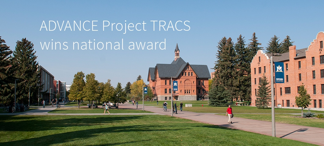 ADVANCE Project TRACS wins national award  |