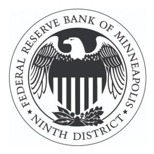 The crest of the Minneapolis Federal Reserve Ninth District