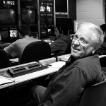 Jack Hyyppa, who helped create Montana Public Television while a member of the MSU film and television faculty for nearly three decades, will be inducted into the Montana Broadcasters Association Hall of Fame. Photo by Phil Savoie, courtesy of Eric Hyyppa.
