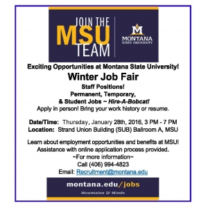 MSU Winter Job Fair