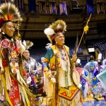Dancers at annual MSU Pow Wow