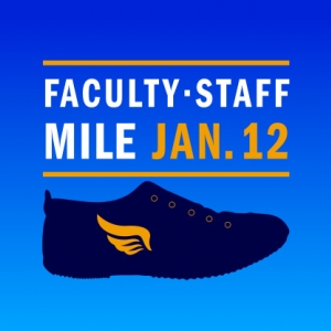 Faculty-Staff Mile, Jan. 12, 2018