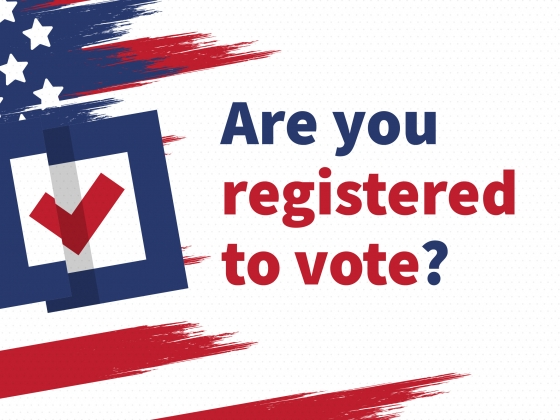Are you registered to vote? |