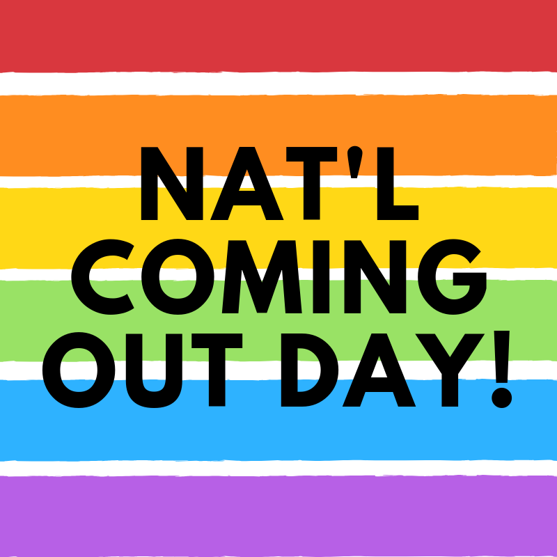 National Coming Out Day Celebration Msu Event