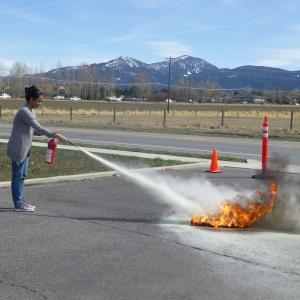 Fire Extinguisher Training