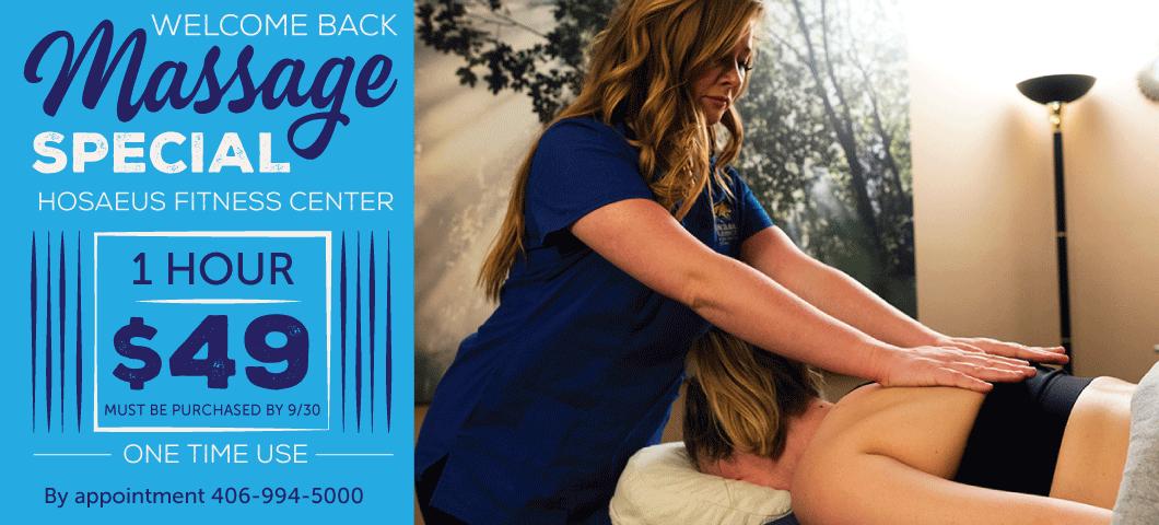 HFC Massage Special