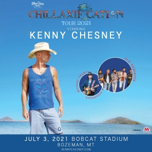 Kenny Chesney Chillaxification Tour 2021