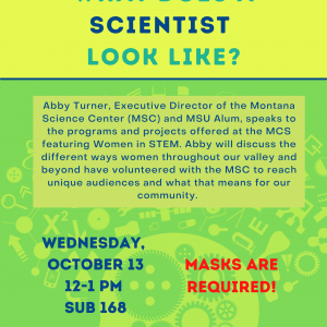 What Does a Scientist Look Like poster