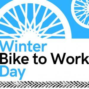 Winter Bike to Work Day poster