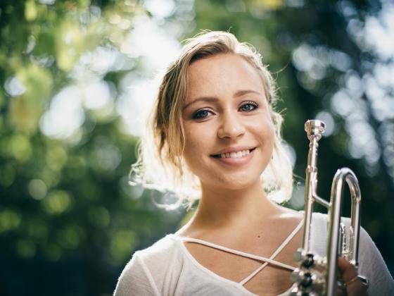 Briana Gillet Returns from European Music Festivals | MSU Photo by Adrian Sanchez-Gonzalez