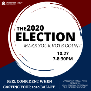 The 2020 Election: Make Your Vote Count