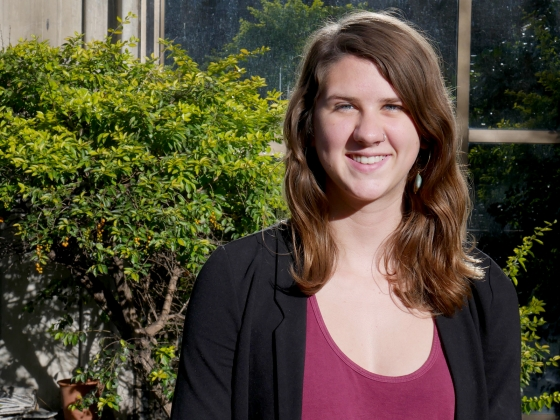Gilman Scholar Erin Hess | Photo Courtesy of Erin Hess