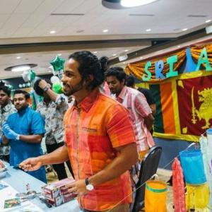 Sri Lankan Student Booth