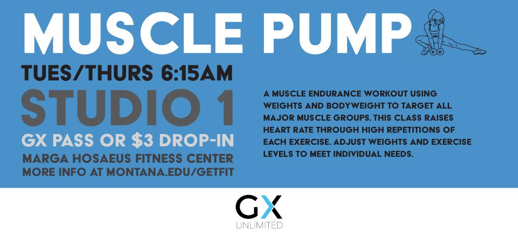 Muscle Pump GX Class