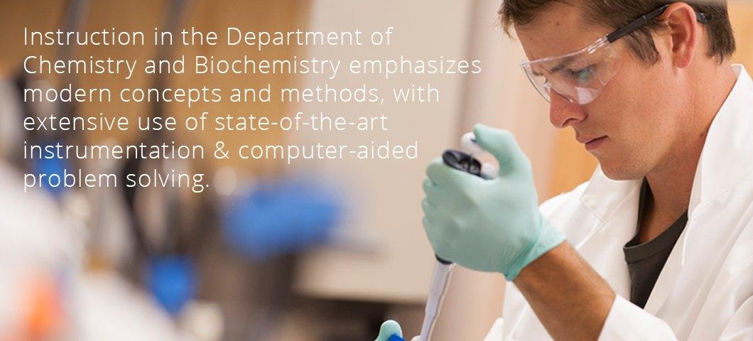 Department of Chemistry & Biochemistry