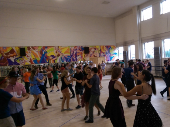 SwingCats dancing at Romney
