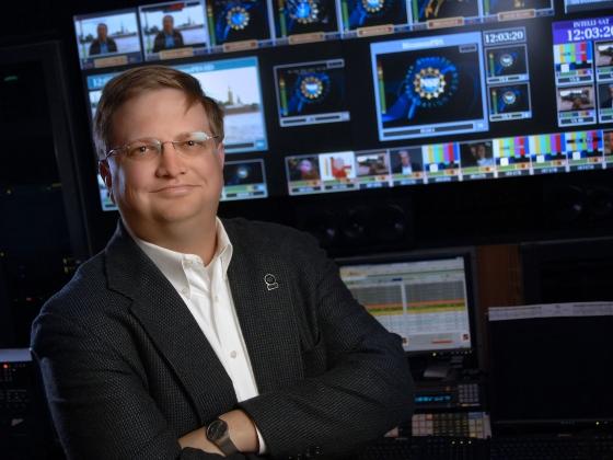 KUSM station manager Eric Hyyppa