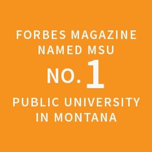 Forbes Magazine named MSU no. 1 public university in Montana |