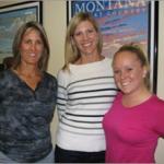 Laura Collins, Melis Edwards and Amanda Round