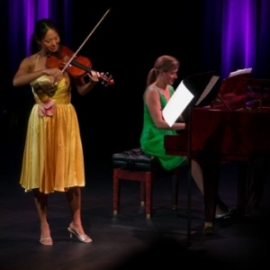 Angella Ahn and Julie Gosswiller at the Big Sky Classical Music Festival 2014