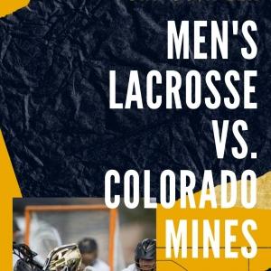 Men's Lacrosse Flyer
