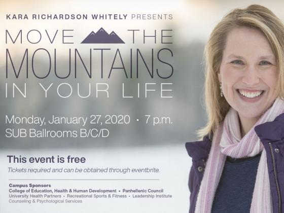 Kara Richardson Whitely presents: Move the Mountains in Your Life