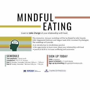 Mindful Eating: Learn to take charge of your relationship with food