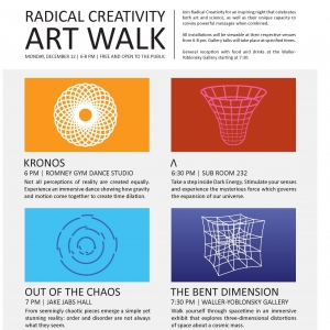 Radical Creativity Art Walk