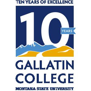 Gallatin College 10th Anniversary logo