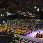 Approximately 1,200 incoming freshman attended the annual convocation.