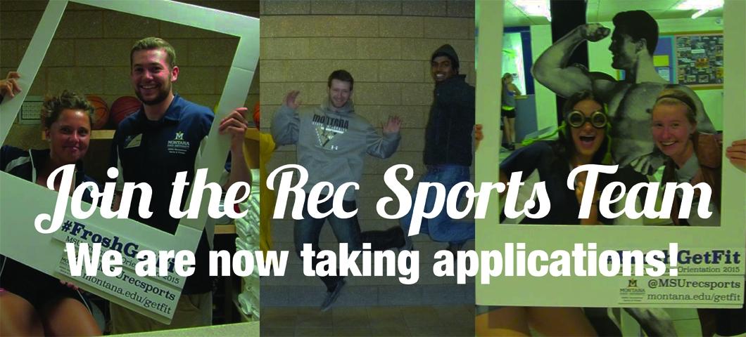 Rec Sports Applications