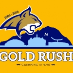 Gold Rush T-shirt design