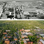 Campus then and now