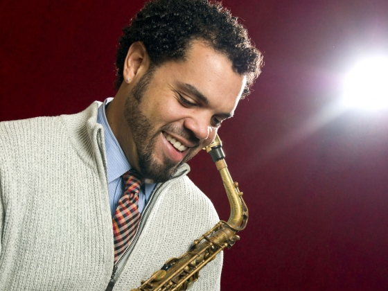 Photo of Ryan Matzinger, member of the School of Music faculty.
