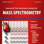 An image created by MSU postdoctoral researcher Josh Heinemann appeared on the cover of the October Journal of The American Society for Mass Spectrometry.