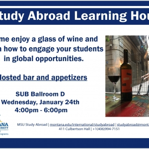 Study Abroad Learning Hour