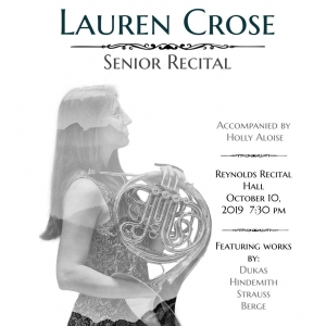 Lauren Crose, Senior Recital