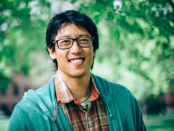 Tony Chang Receives David H. Smith Conservation Research Fellowship | MSU Photo by Adrian Sanchez-Gonzalez