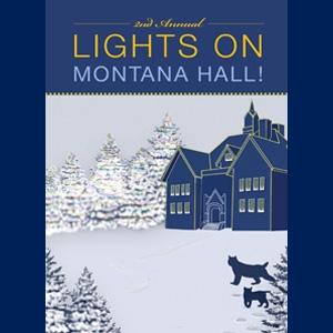 Lights On Montana Hall 2016