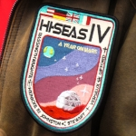 Shown in this undated photo is a HI-SEAS mission patch with the names of the six researchers who participated in the Mars simulation project. Photo Courtesy of University of Hawaii