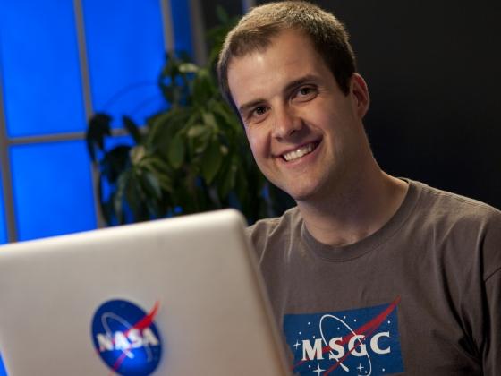 A man who likes NASA |