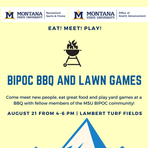BIPOC BBQ and Lawn Games event