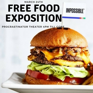 Free Food Exposition March 24th 4PM till gone