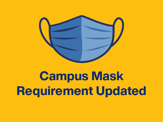 Mask requirement update  